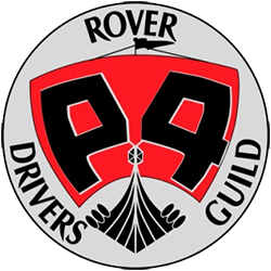 Rover P4 Drivers Guild logo